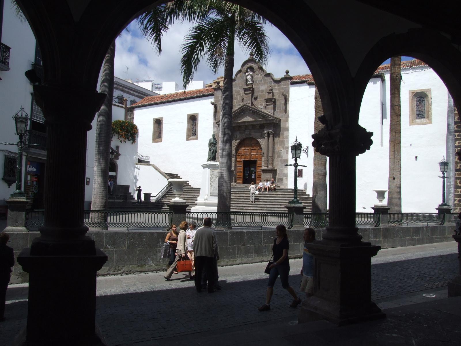 Plaza de espa a ayuntamiento de santa cruz de la palma - Casas rurales en santa cruz de la palma ...